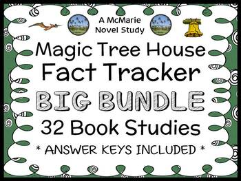 Magic Tree House Fact Tracker COLLECTION : 31 Book Studies