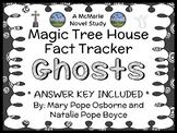 Magic Tree House Fact Tracker: Ghosts (Osborne) Book Study / Comprehension