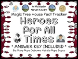 Magic Tree House Fact Tracker: Heroes for All Times (Osborne & Boyce) Book Study