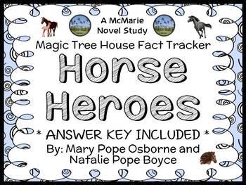 Magic Tree House Fact Tracker: Horse Heroes (Osborne) Book Study