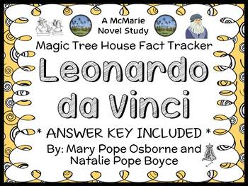 Magic Tree House Fact Tracker: Leonardo da Vinci (Osborne) Book Study