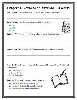 Magic Tree House Fact Tracker: Leonardo da Vinci (Osborne) Book Study