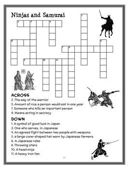Magic Tree House Fact Tracker: Ninjas and Samurai Book Study / Comprehension