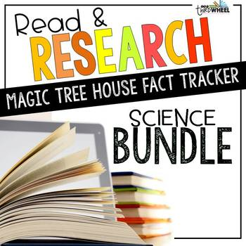 Science Informational (Nonfiction) Book Study Bundle