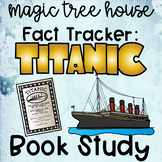 Magic Tree House Fact Tracker Titanic Nonfiction Book Study Printable