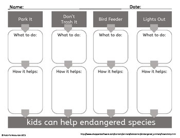 Magic Tree House Fact Tracker: Pandas and Other Endangered Species *Freebie*