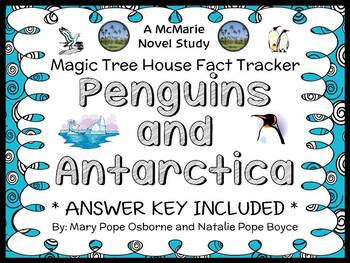 Magic Tree House Fact Tracker: Penguins and Antarctica (Osborne) Book Study