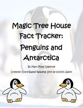 Magic Tree House Fact Tracker Penguins and Antarctica Read