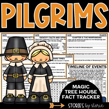 Magic Tree House Fact Tracker: Pilgrims (A Nonfiction Companion)