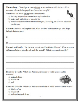 Magic Tree House Fact Tracker: Polar Bears and the Arctic (Osborne) Book Study
