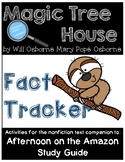 Magic Tree House Fact Tracker Rain Forests/Afternoon on the Amazon - Study Guide