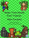 Magic Tree House Fact Tracker Rain Forests Reading Unit