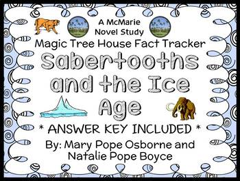 Magic Tree House Fact Tracker: Sabertooths and the Ice Age (Osborne) Book Study