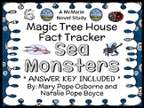 Magic Tree House Fact Tracker: Sea Monsters (Osborne) Book Study / Comprehension