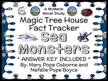 Magic Tree House Fact Tracker: Sea Monsters (Osborne) Book