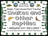Magic Tree House Fact Tracker: Snakes and Other Reptiles (Osborne) Book Study