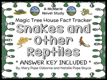 Magic Tree House Fact Tracker: Snakes and Other Reptiles (