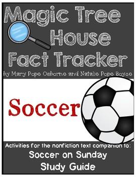 Magic Tree House Fact Tracker Soccer/Beckham/Mia Hamm  - Study Guide