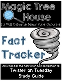 Magic Tree House Fact Tracker Twisters /Tornadoes on Tuesday - Study Guide
