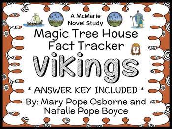 Magic Tree House Fact Tracker: Vikings (Osborne) Book Stud