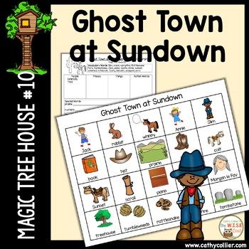 Magic Tree House - Ghost Town at Sundown - #10