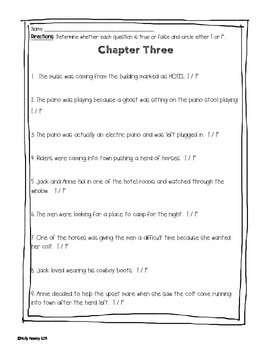 Magic Tree House: Ghost Town at Sundown A Guided Reading Activity