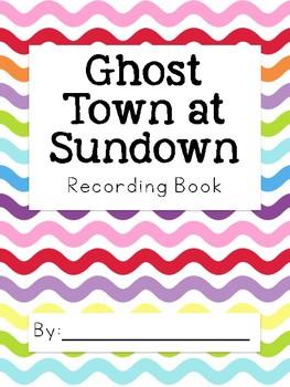 Magic Tree House Ghost Town at Sundown Reader Response