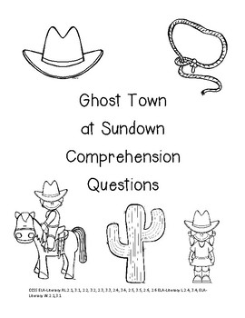 Magic Tree House Ghost Town at Sundown Reading Unit