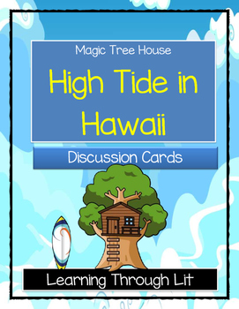 Magic Tree House HIGH TIDE IN HAWAII - Discussion Cards