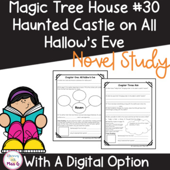 Magic Tree House: Haunted Castle on Hallow's Eve Novel Study