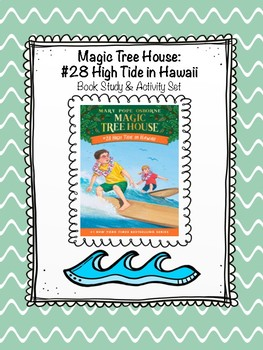 Magic Tree House: High Tide in Hawaii Book Study
