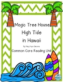 Magic Tree House High Tide in Hawaii Reading Unit