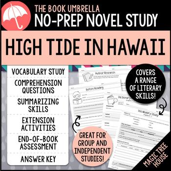 High Tide In Hawaii Magic Tree House By Thebookumbrella Tpt