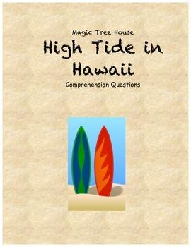Magic Tree House High Tide ... by ElizaD | Teachers Pay Teachers