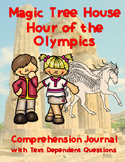 Magic Tree House: Hour of the Olympics Comprehension Guide - CC Aligned