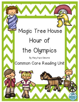 Magic Tree House Hour of the Olympics Reading Unit