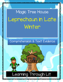 Magic Tree House LEPRECHAUN IN LATE WINTER Comprehension &