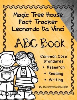 Magic Tree House Leonardo da Vinci's ABC Notebook: Common Core Standards