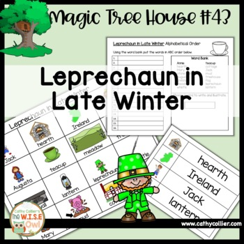 Magic Tree House - Leprechaun in Late Winter - #43