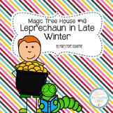 Magic Tree House - Leprechaun in Late Winter literature unit