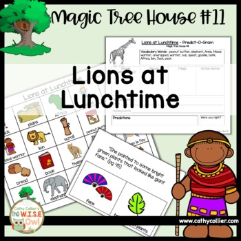 Magic Tree House - Lions at Lunchtime - #11