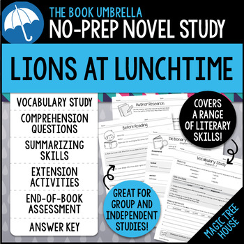 Lions at Lunchtime - Magic Tree House
