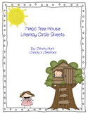 Magic Tree House Literacy Circle Sheets