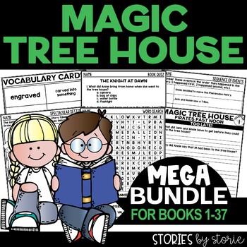 Magic Tree House MEGA Bundle (Questions & Activities for Books 1-28)