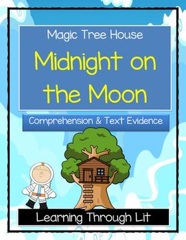 Magic Tree House MIDNIGHT ON THE MOON Comprehension & Citi