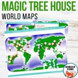 Magic Tree House Maps