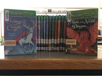 Magic Tree House Merlin Mission Book Lables