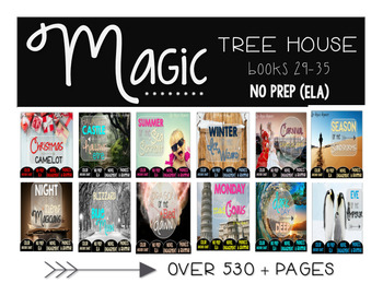Magic Tree House Merlin Mission Books 29-40 NO PREP (ELA) BUNDLE