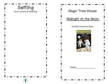 Magic Tree House Midnight on the Moon Response Journal