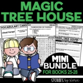 Magic Tree House Mini Bundle (Questions & Activities for Books 25-28)